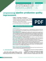 Shipbuilding Pipeline Production Quality Improvement
