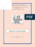 Sustento Teorico (Taller II)