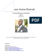 The Career Action Network Newsletter April 30th Vol 36