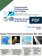 Dengue en Las Americas Marzo 2011