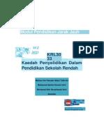 Modul KRL 3033 Kaedah Penyelidikan Dalam Pendidikan