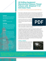Avoid Thread Failures in Rotary Steerable Drilling Connections With P37