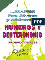 Desafios Para Jóvenes y Adolescentes Números y Deuteronomio