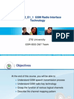 GSM Radio Interface Technology