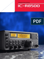 ICOM IC-R8500 Brochure
