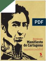 BOLÍVAR, Simón - Manifiesto de Cartagena