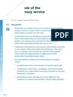 Chapter9 Role of Pharmacy Service