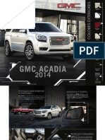2014 Gmc Acadia Model Overview Catalogue
