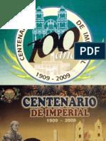Programa por Centenario de Imperial