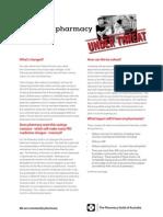 Pharmacy Under Threat q a(1)