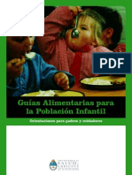 Guía para la Nutrición Infantil-parte 1
