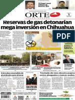 Periódico Norte de Ciudad Juárez edición impresa del 1 mayo del 2014