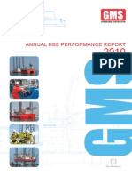 Anual Performance Report 2012 (GMS Offshore Contractor)