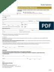 2013 Student Membership Application