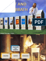 2nd Quarter 2014 Lesson 5 Christ and the Sabbath Powerpoint Presentation.ppt