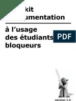 Petit kit d'argumentation à l'usage des étudiants bloqueurs
