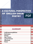 2.1 Cultural Perspective of Poetry