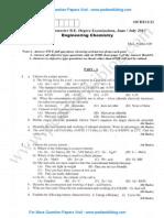 Engineering Chemistry June 2013 (2010 Scheme)
