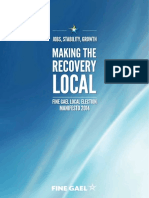 Local Election Manifesto