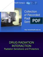 Drug Radiation Interaction 2012