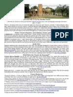 Jumaa Prayer Bulletin 2 May 2014