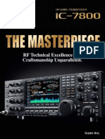 ICOM IC-7800 Brochure