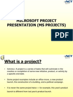 MS Project Presentation