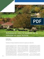 CyS Nº 45 (Octubre-noviembre 2012). Actualización Sobre La Condición de No-ciclicidad en Vacas Lecheras