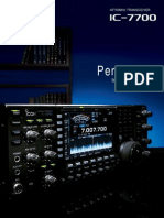 ICOM IC-7700 Brochure