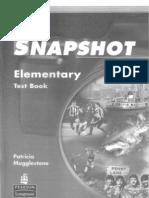 Snapshot Elementary TestBook