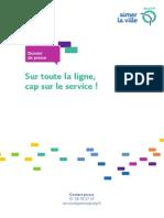 Dp-ratp-nouveaux-services 29 Avril 2014 Sur Toute La Ligne, Cap Sur Le Service!