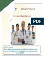 India Endoscopic Sinus | Sinus Surgery in India