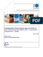 OECD Administration Fiscale Comparative 2009