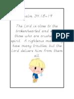 Psalm 34,18-19