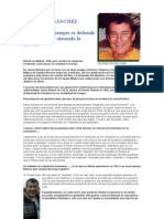 FERNANDO SÁNCHEZ DRAGÓ - Entrevistado Por Falange Española