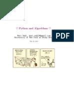 Algorithms in Python