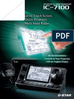 ICOM IC-7100 Brochure