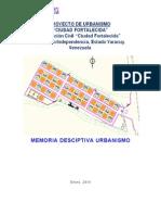 Memoria Urbanismo Fortalecida Rev0