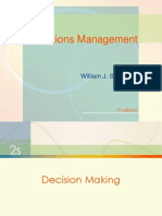 Decision Mak