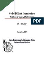 Cooled EGR and Alternative Fuels V1