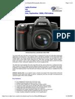 Nikon D80 Spec