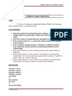 CS2304 system software lab manual