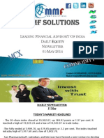 Today's Equity Newsletter 01-May-14