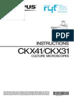 Serie Ckx Instructions En