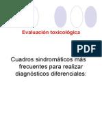 Evaluación toxicológica
