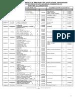 Datesheet HSSC a 2014