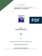 materi tentang DM Delta Modulation