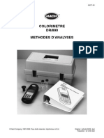 152873338 Colorimetre DR 890 Methodes D Analyses PDF