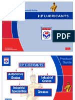 HP Lubricants Catalogues