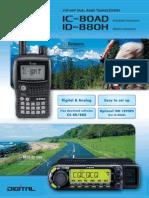 ICOM IC-80AD Brochure